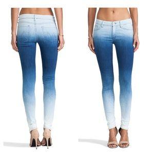Mother The Looker El Hombre Ombré Skinny Jeans 26